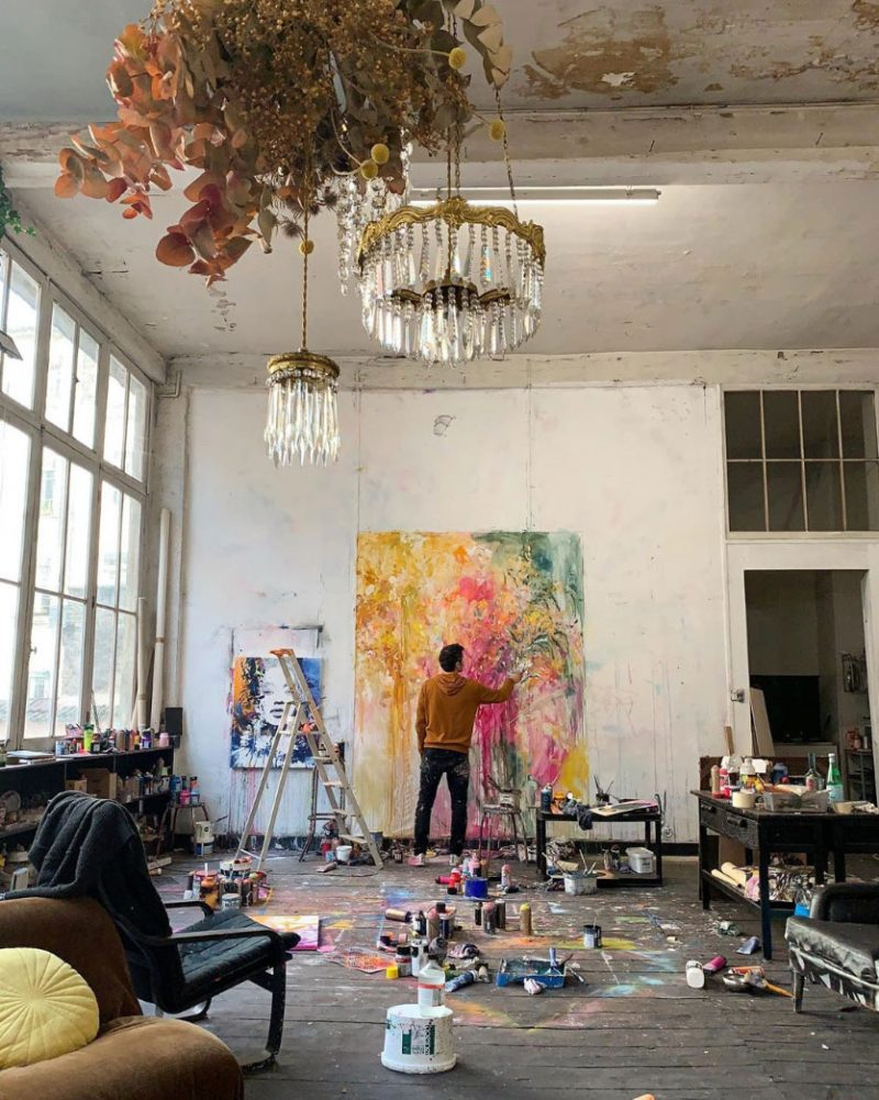 Instagram Discoveries: Artist Studios