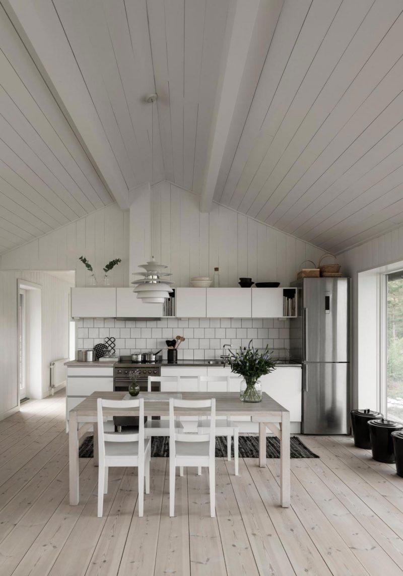 Peek Inside a Minimalist's Dream Summerhouse in Sweden