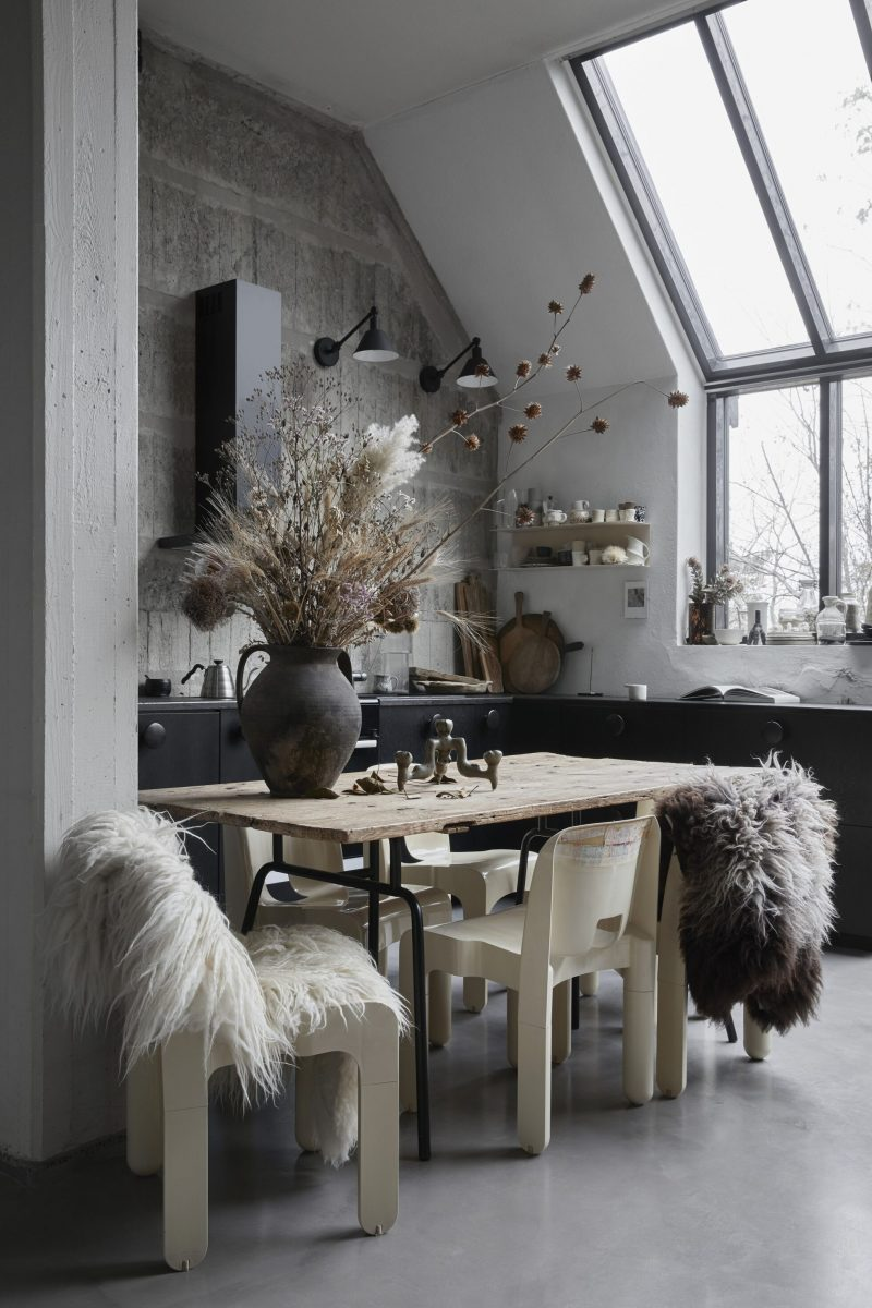 Peek Inside a Small Eclectic Studio in Stockholm