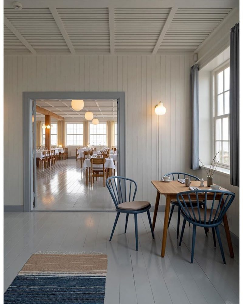 A Historical Seaside Hotel in Denmark Reopens in Style