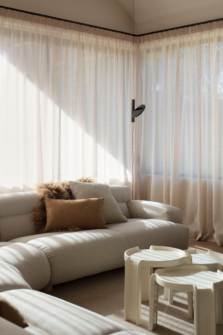 Take A Look Inside An Understated Home With Modern Muted Tones
